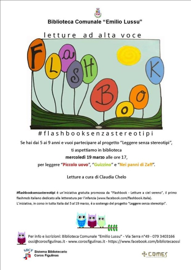 Flashbook - Letture ad alta voce