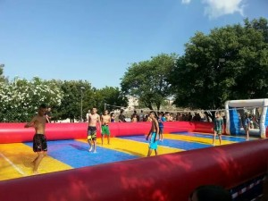 Beach Volley gonfiabile