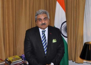 Mr.-Anil-Wadhwa-in-his-office-at-the-Indian-Embassy