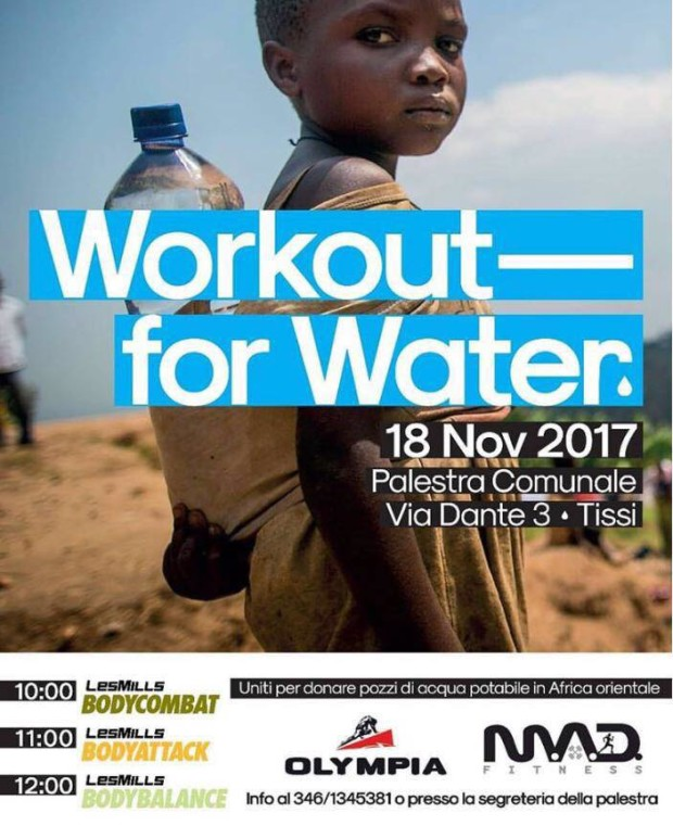 Workout for water - locandina